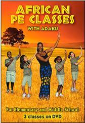 African PE Classe with Adaku DVD