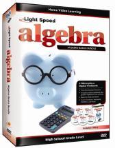 Light Speed Algebra Super Pack - 4 DVDs plus CD Guide