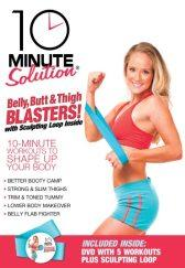 10 Minute Solution: Belly, Butt and Thigh Blaster DVD with Sculpting Loop
