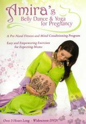 Amira's Belly Dance & Yoga for Pregnancy Prenatal Exercise DVD