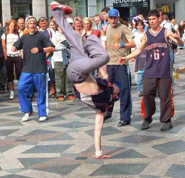 james brown breakdance