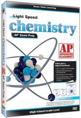 Light Speed Chemistry AP Exam Prep DVD plus CD Guide