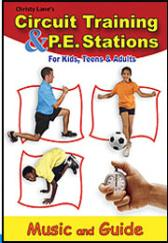 Circuit Training & P.E. Stations CD-Rom For Kids, Teens & Adults
