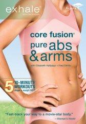 Exhale: Core Fusion Pure Abs & Arms DVD