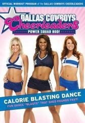 Dallas Cowboys Cheerleaders: Power Squad Bod! - Calorie Blasting Dance DVD