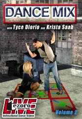Dance Mix Volume II with Tyce Diorio and Krista Saab DVD