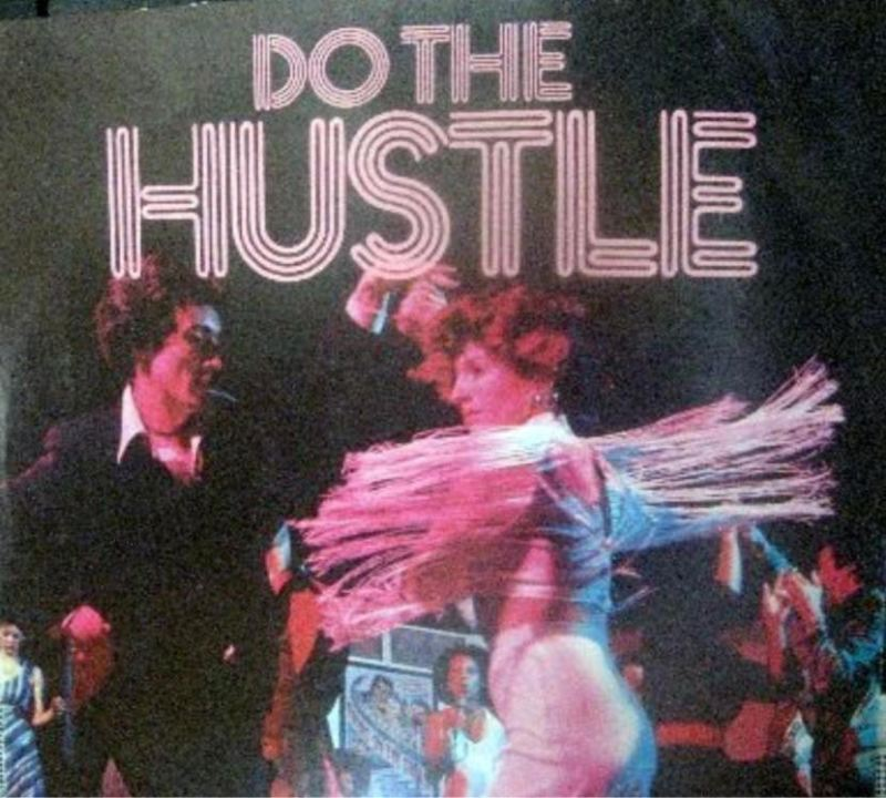 Do The Hustle Album Cover featuring Jeff and Donna Shelly