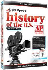 Light Speed History of the U.S. AP Exam Prep DVD plus CD Guide