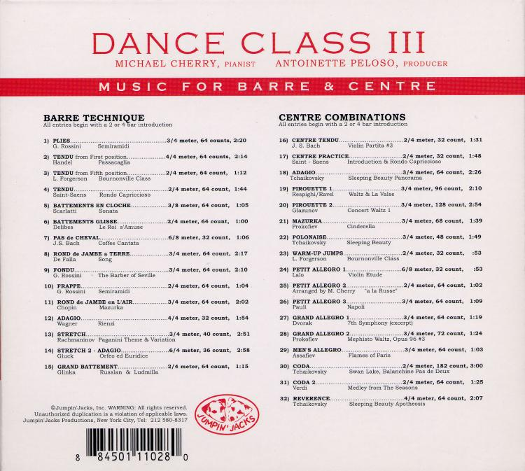 Music for Barre and Center III