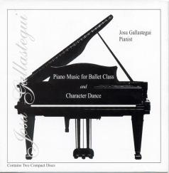 Piano Music for Ballet Class & Character Dance 2 CD Set