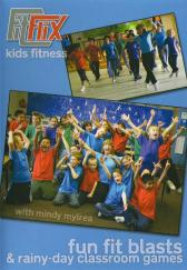 Mindy Mylrea: Fun Fit Blasts and Rainy Day Classroom Games for Kids DVD