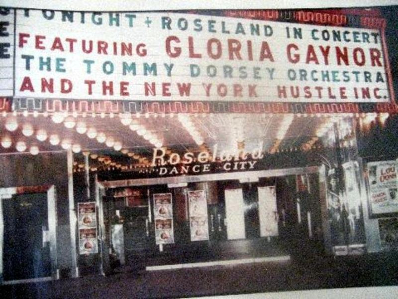 The famous Roseland Ballroom featuring the Shelly's New York Hustle