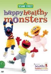 Sesame Street's Happy Healthy Monsters DVD