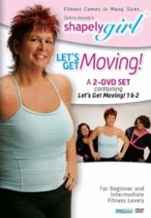 Debra Mazda's ShapelyGirl Let's Get Moving! Low Impact and Toning Cardio 2 DVD Set