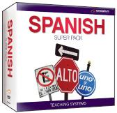 Teaching Systems Spanish Pack - 13 DVDs plus CD Guide