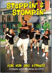 Steppin' and Stompin' For Fun and Fitness DVD
