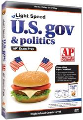 Light Speed U.S. Government & Politics AP Exam Prep DVD plus CD Guide