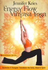 Energy Flow Beginner Vinyasa Yoga with Jennifer Kries DVD