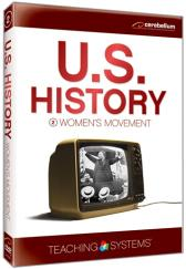 Teaching Systems U.S. History: Women's Movement DVD plus CD Guide