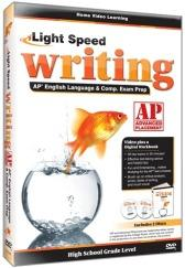 Light Speed Writing AP English Language & Composition Exam Prep DVD plus CD Guide
