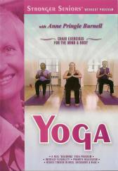 Stronger Seniors: Yoga Chair Exercise for Fitness DVD