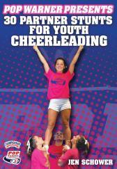 Pop Warner Presents 30 Partner Stunts for Youth Cheerleading DVD