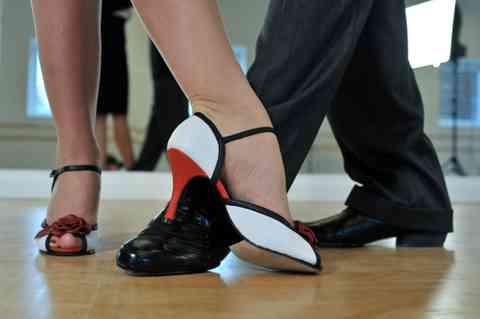 Argentine Tango dancers.