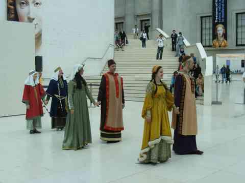 Elizabethan Dancing